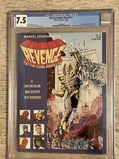 Marvel Graphic Novel #17 ~CGC 7.5~(1st Appearance APOCALYPSE) She-Hulk/ Avengers