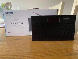 Majority Histon 2 Portable Digital Radio DAB+ & FM Radio / Alarm Clock