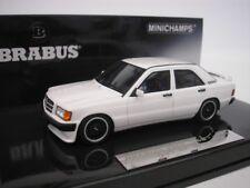 Mercedes Brabus 190e 3.6s 1989 BLANCO 1/43 Minichamps 437032602 NUEVO