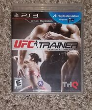 UFC Personal Trainer The Ultimate Fitness System (Sony PlayStation 3, 2011)