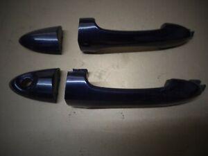 FORD FOCUS MK1 ST 170 EXTERNAL FRONT DOOR HANDLES - METALLIC BLACK LEFT & RIGHT
