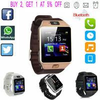 DZ09 Bluetooth Smart Watch Camera Phone Mate GSM SIM Android iSO Samsung LG USA*