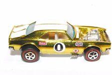 Heavy Chevy Original Hot Wheels Redline Premium Restoration in Yellow/ Chrome