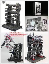 Super Nova MS Cage Base for Bandai 1/100 MG RE TV Gundam Unicorn metal grey