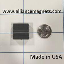 "10 Pieces, Ferrite Latch Magnets,  0.79"" x 0.78"" x 0.3"""
