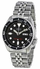 Seiko Diver's Stainless Steel Case Adult Wristwatches