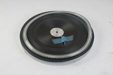 Philips 212 Turntable / Record Player Platter W/ Rubber Mat Replacement Parts