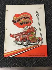 1978 Atari Smokey Joe Manual Driving Game Nos