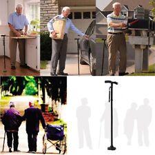 ULTIMATE MAGIC CANE Adjustable Folding & Extendable Walking Stick + LED Lights