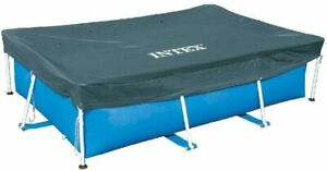 "Intex Swimming Pool Cover Rectangle 118"" x 79"" (300 x 200cm) 9ft 10"""