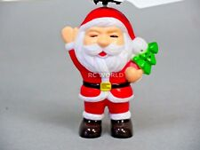 RC HELICOPTER Christmas Toy Flying SANTA CLAUSE St. Nick W/ Controller w/ Lights