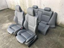 Inkl. UMBAU BMW E46 Coupe Lederausstattung Sportsitze Innenausstattung grau Neu