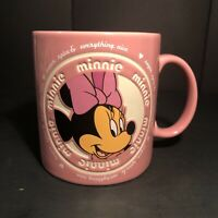 Minnie Mouse Walt Disney World Parks Mug Cup Pink Sugar Spice Everything Nice