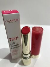 NEW Clarins Joli Rouge Lip Lacquer, 760 Pink Cranberry BNWB