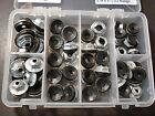 60 pcs thread cutting emblem moulding clip sealer nuts assortment fits Dodge  for sale