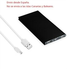 Batería Externa Power Bank Cargador Portátil Móvil Telefono Samsung 20000mAh