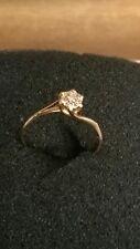 BAGUE ANCIENNE  OR  18 carats  ET DIAMANT