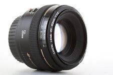 Obiettivo Canon EF 50mm 1:1,4 USM pour EOS: 750D 70D 7D 5D 1d (1.4) Garantito