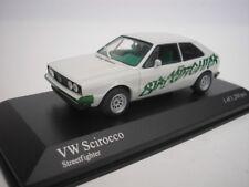 VW VOLKSWAGEN SCIROCCO STRETFIGHTER 2006 BIANCO 1/43 Minichamps 430050424 NUOVO