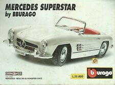 X1204 BBURAGO MERCEDES BENZ 300 SL Roaddter (1957) - Pubblicità 1995 - Advertis.