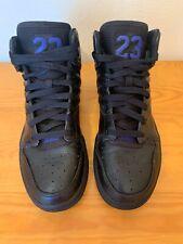 Original Nike Air Jordan 1 Flight 4  Black Concord Size 6 Trainers 820135014 Vgc