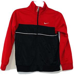 Nike Boys Red/Black Track Jacket Size 6