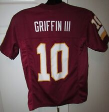 NFL Washington Redskins RG3 Robert Griffin III  #10 Jersey Size Youth Small (8)