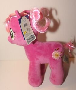 """Build A Bear My Little Pony Cheerilee 17"""" Pink With Flower BABW With Tags, Sound"""