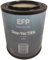 """EFP Red Stripe Wet/Dry Cartridge Filter for Craftsman 9-17816 8.5"""" & Sealing Cap"""