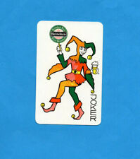 Single Brewery Playing Card . Special Joker . Heineken Beer / Lager