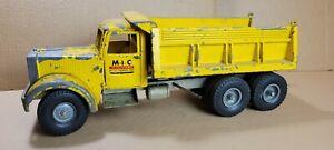 Smith Miller Smitty MIC Yellow Hydraulic Dump Truck Construction 1950's