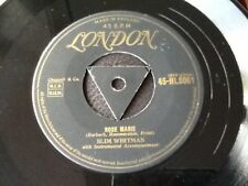 SLIM WHITMAN . ROSE MARIE . Rare No.1 Hit . LONDON TRI CENTRE Lovely condition