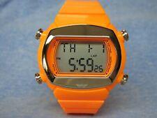 Men's Orange ADIDAS Water Resistant Digital Watch