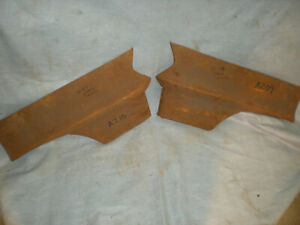 57 58 1957 1958 CHRYSLER & DESOTO FRONT FENDER PATCH PANELS PAIR LEFT & RIGHT