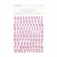 "FANTASTIC FUN STICKERS /"" MULTI ALPHABET /"" FOR CARDS /& CRAFT"