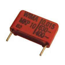 10 WIMA Impulsfester Polypropylen-Kondensator MKP10 630V 0,015uF 15mm 089730