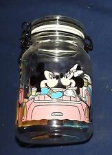 Vintage Mickey & Minnie Mouse Goofy Donald & Daisy Duck Cookie Bale Wire Jar