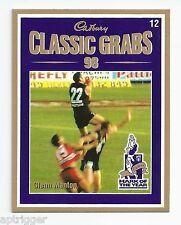 1999 Select Cadbury Classic Grabs (12) Glenn MANTON Carlton