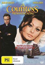 A COUNTESS FROM HONG KONG 1966 (DVD]  MARLON BRANDO=PAL 4= SEALED= FREE POST