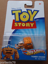 Hot Wheels Toy Story 1:64 Scale TURBO CHUNK Square Card