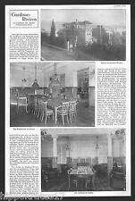 Gardone-Riviera am Gardasee Kasino Lesesaal Kurhaus Reklame 1912 (B) Italy