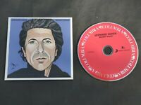 Recent Songs LP Style CD From The Complete Leonard Cohen Studio CD Collection