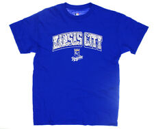 NWT - GENUINE MLB MERCHANDISE Men's KC ROYALS Blue S/S GRAPHIC T-SHIRT - L