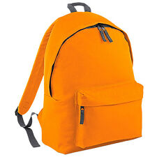 Plain Backpack - Back To School College Bag Retro Fashion Unisex Rucksack Bags