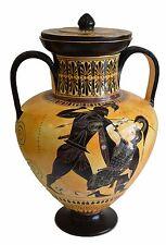 Achilles and Penthesileia - Ancient Greek Amphora Vase- British Museum Replica