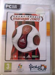 68532 - Championship Manager 2007 [NEW / SEALED] - PC (2007) Windows XP