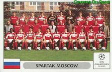 020 TEAM SQUADRA SPARTAK MOSCOW STICKER PANINI UEFA CHAMPIONS LEAGUE 2000-2001