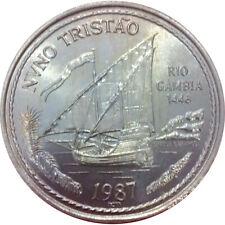 100 Escudos Nuno Tritan 1987 - Portuguese Discoveries  - 1 st Serie - KM#640