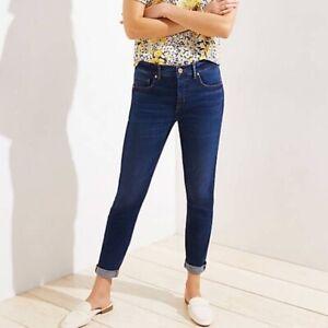 Woman/'s Size 8 White Modern Slim Denim Jeans $89.00 64 Ann Taylor