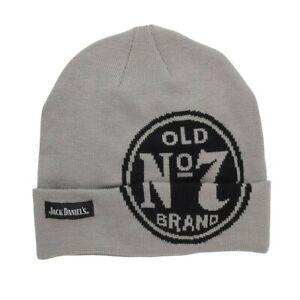 Jack Daniels Old No. 7 Grey Beanie Grey